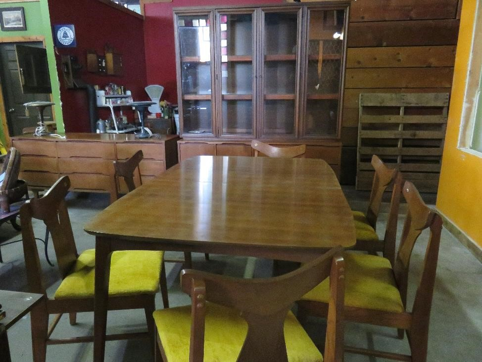 Danish-style Mid-Century Modern Stanley furniture set
