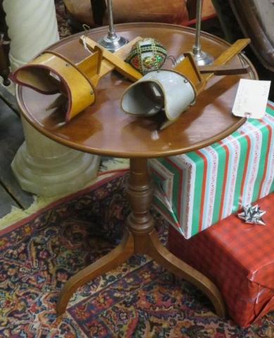Drop leaf tea table (c. 1840's-1850's)