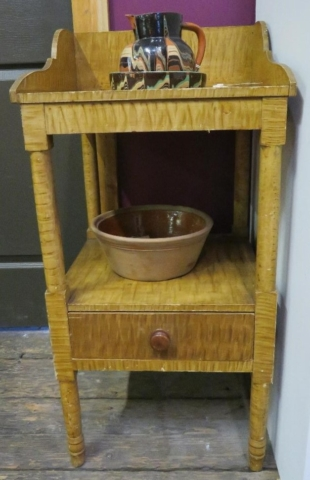 Tiger Stripe washstand